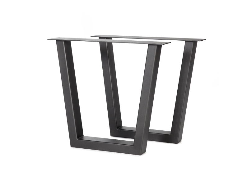 tafelpoot umbrië staal - luxe tafels
