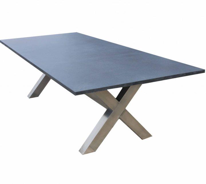 Luxe tafel van graniet