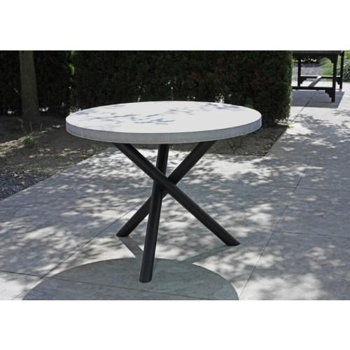 beton tafel rond