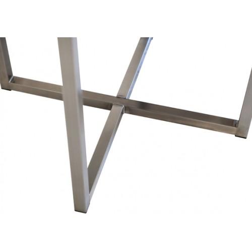 RVS onderstel Massimo, details van het frame