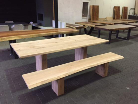 Houten Boomstam Tafel : Houten tafels industriële tafels luxetafels nederland