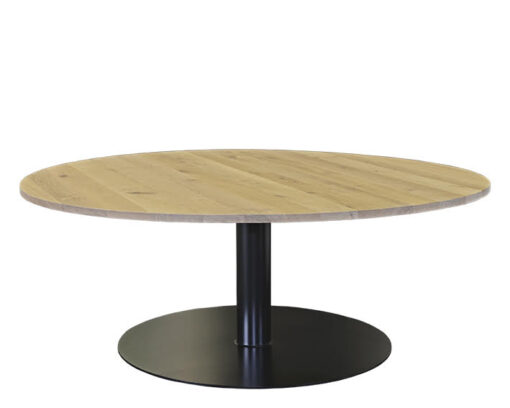 Eikenhouten tafel Rondo