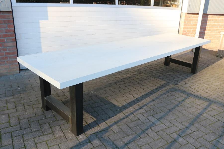 Wit Eiken Tafel : Eiken tafel wit cm luxe tafels
