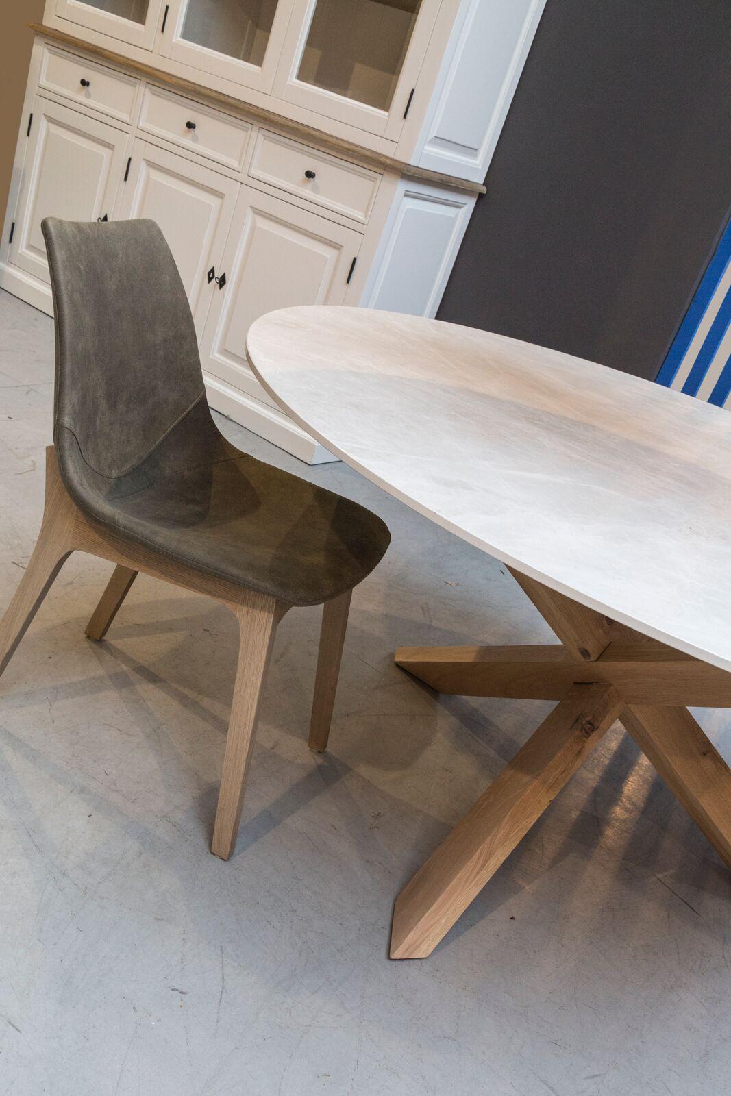 ronde keramiek tafel