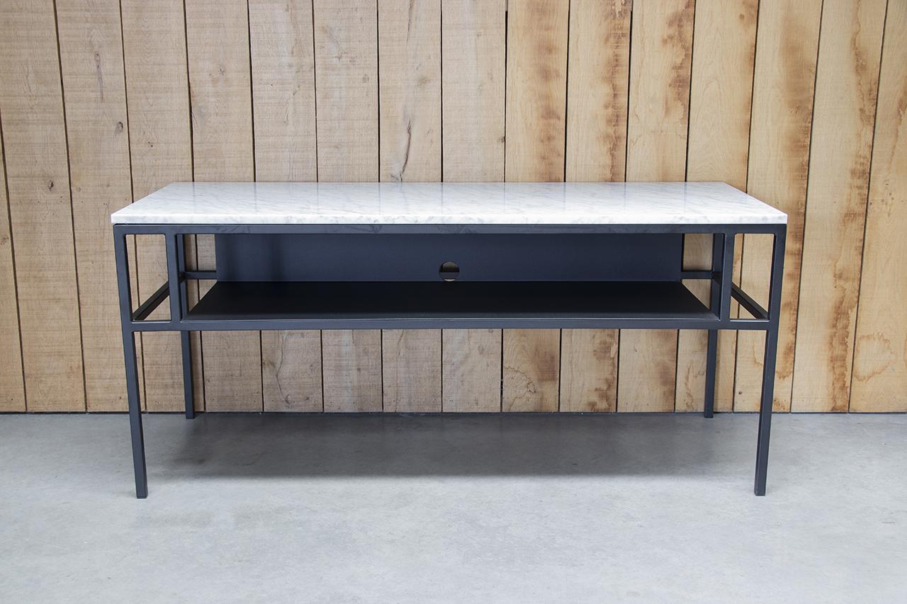 Carrara Bianco marmeren TV-meubel