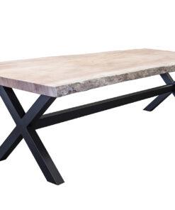 Khaya boomstam tafel Kruispoot